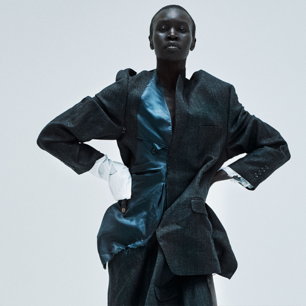 Alek Wek, supermodel, activist and host for the 2018 British Fashion Awards.