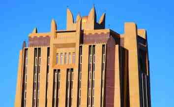 Architecture in Bamako, Mali