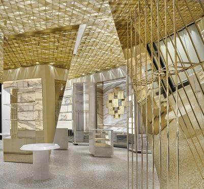 Inside the new Versace store in Miami's Bal Harbour. (Photo: Alessandra Chemollo)