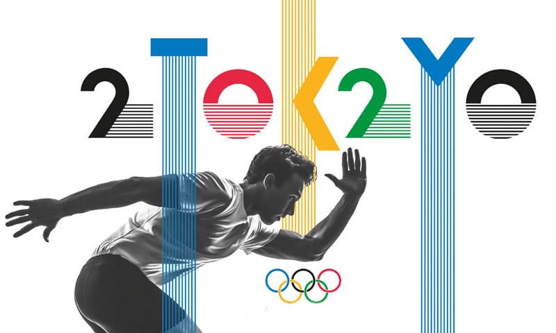 2020 Olympic Games Poster (photo: courtesy)