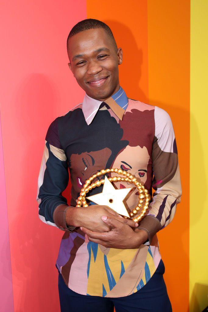 2019 LVMH Talents Prize winner Thebe Magugu (photo: courtesy)