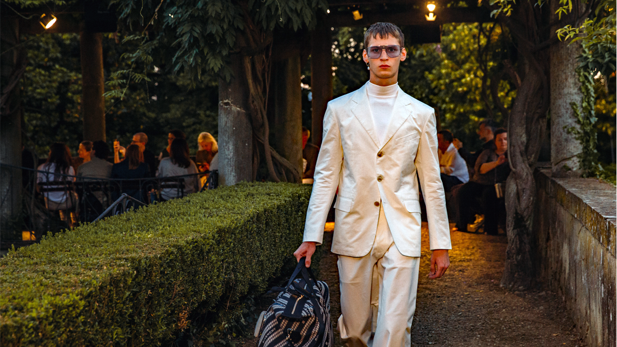 Pitti Uomo's biggest stories: Givenchy Spring 2020 fashion show presented during Pitti Uomo 96 (photo: Givenchy)