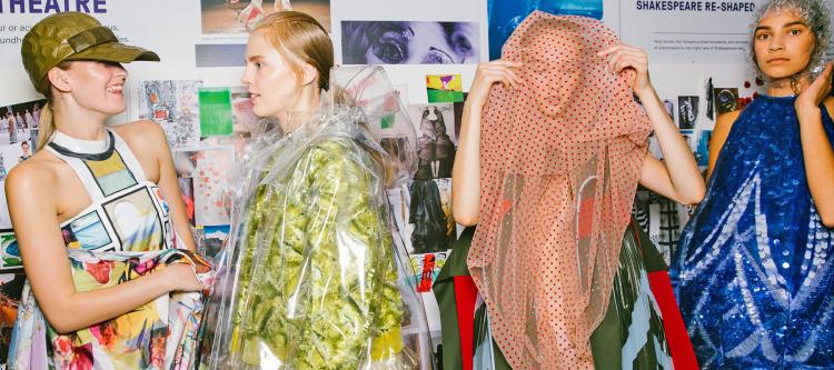 London Fashion Week Spring 2019 backstage (photo: courtesy)