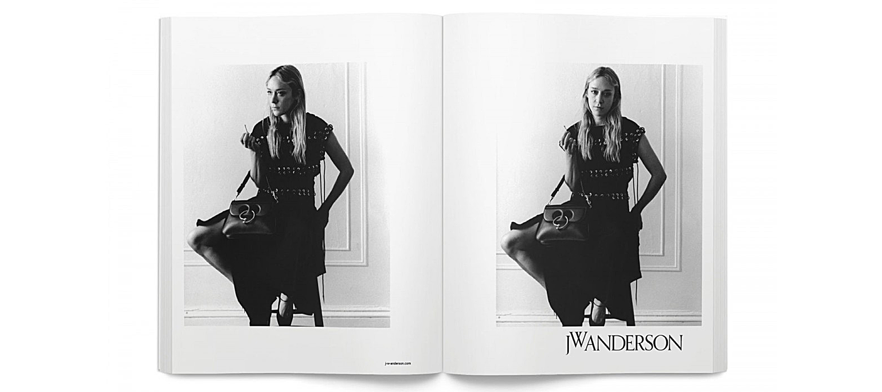 JW Anderson campaign featuring Chloe Sevigny. (photo: courtesy)