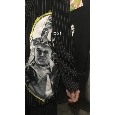 Close up of the Simon Cracker jacket.