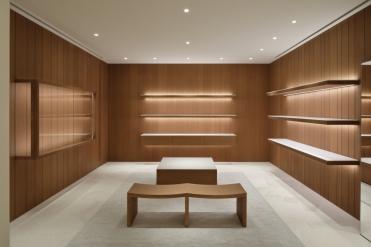 New Jil Sander Omotesando flagship store in Tokyo, Japan.