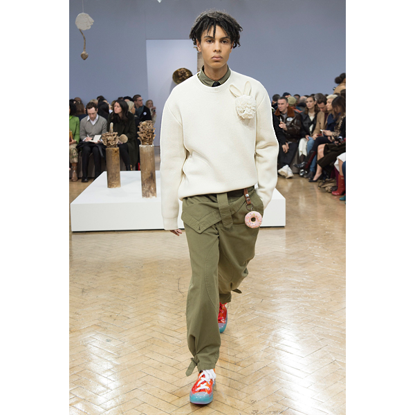 J. W. Anderson Fall 2018 runway show in London (courtesy photo)