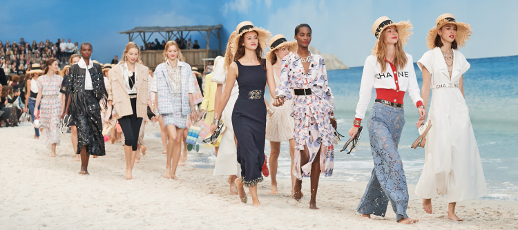 Chanel Spring 2019 fashion show (photo: ZOE Magazine)
