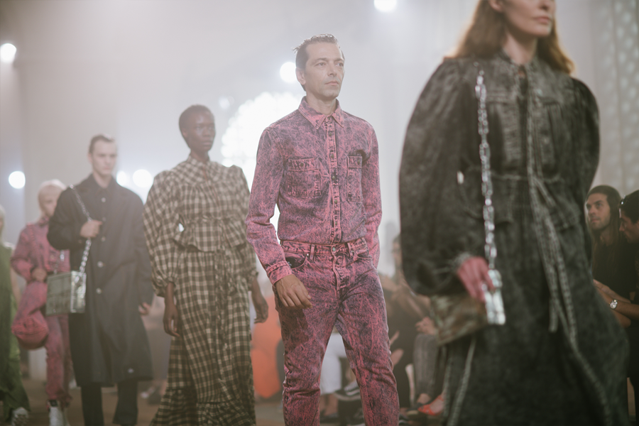 Pitti Uomo's biggest stories: Finale at the S.R. Studio. LA. CA. show presented during Pitti Uomo 96 (photo: Vanni Bassetti)