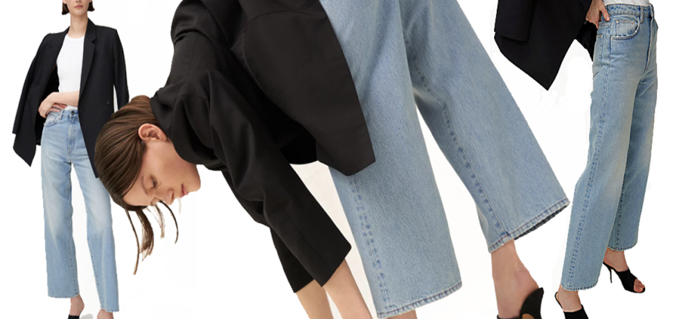 Barrel-leg jeans by Mother of Pearl (photo: courtesy)
