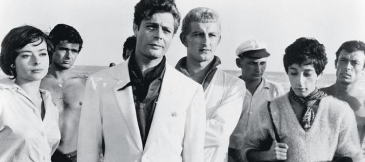 """Still from Fellini's """"La Dolce Vita"""", 1960. (photo: courtesy)"""