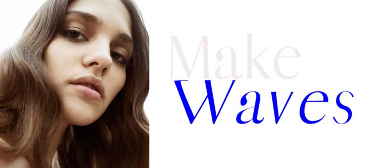 Make Waves editorial (photo: The Fashion Plate Magazine)