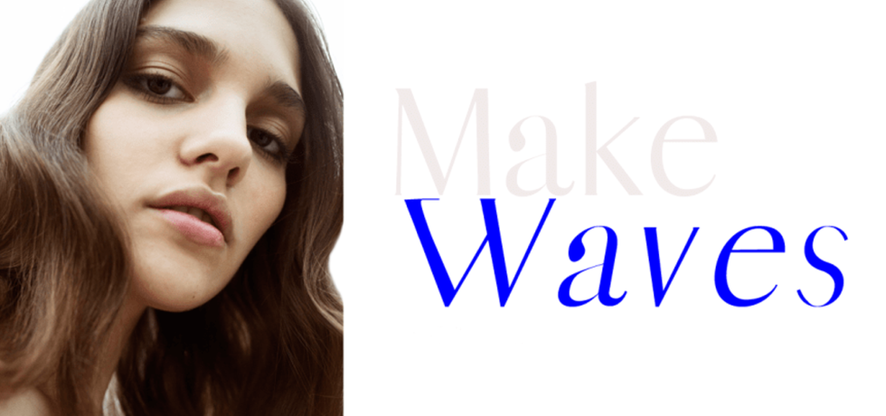 Make Waves editorial (photo: The Fashion Plate Magazine)