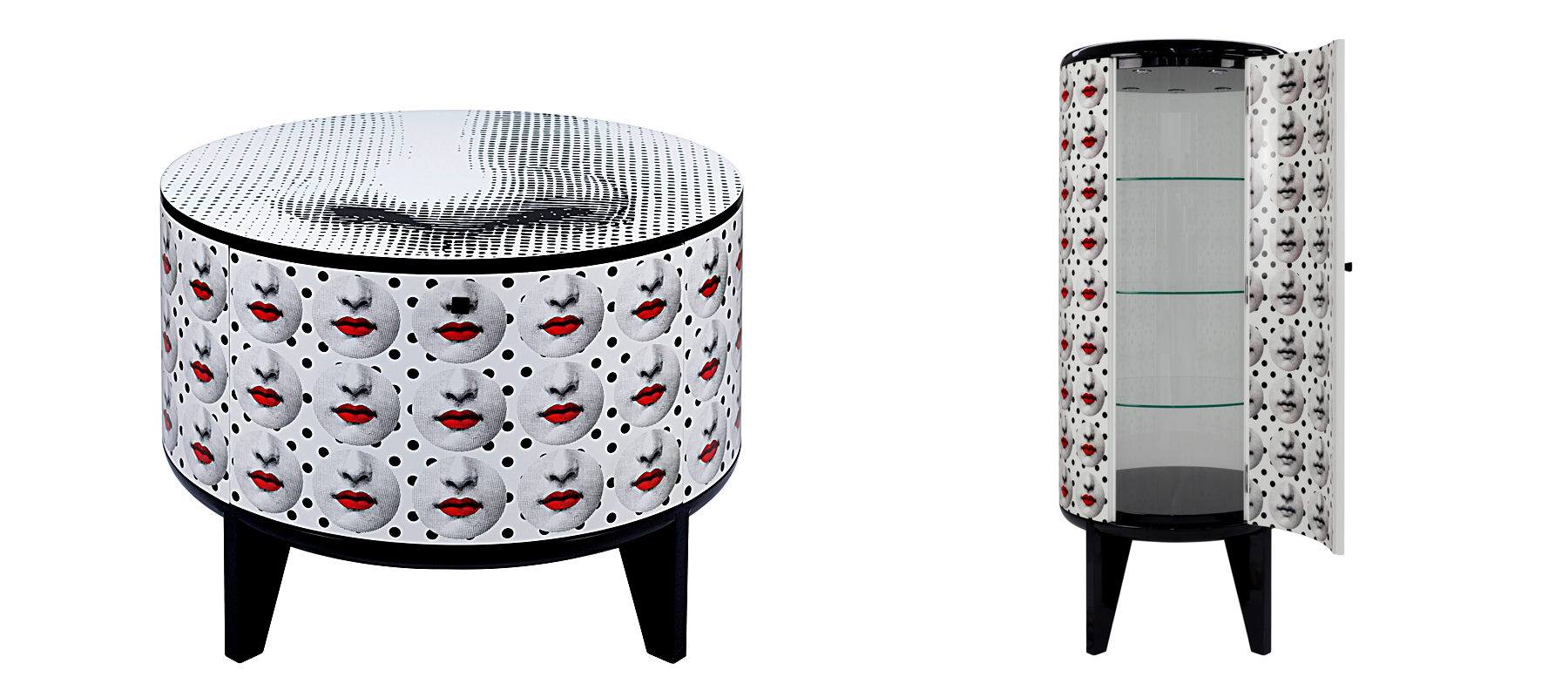"Fornasetti ""Tamburo Comme des Fornà"" collection. (photo: courtesy)"
