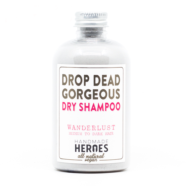 Natural dry shampoo products: Drop Dead Gorgeous Dry Shampoo, $14.90 (photo: courtesy Drop Dead Gorgeous))