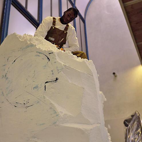 Music and art events on display during Pitti Uomo 95 (photo: Lucas Pantoja)