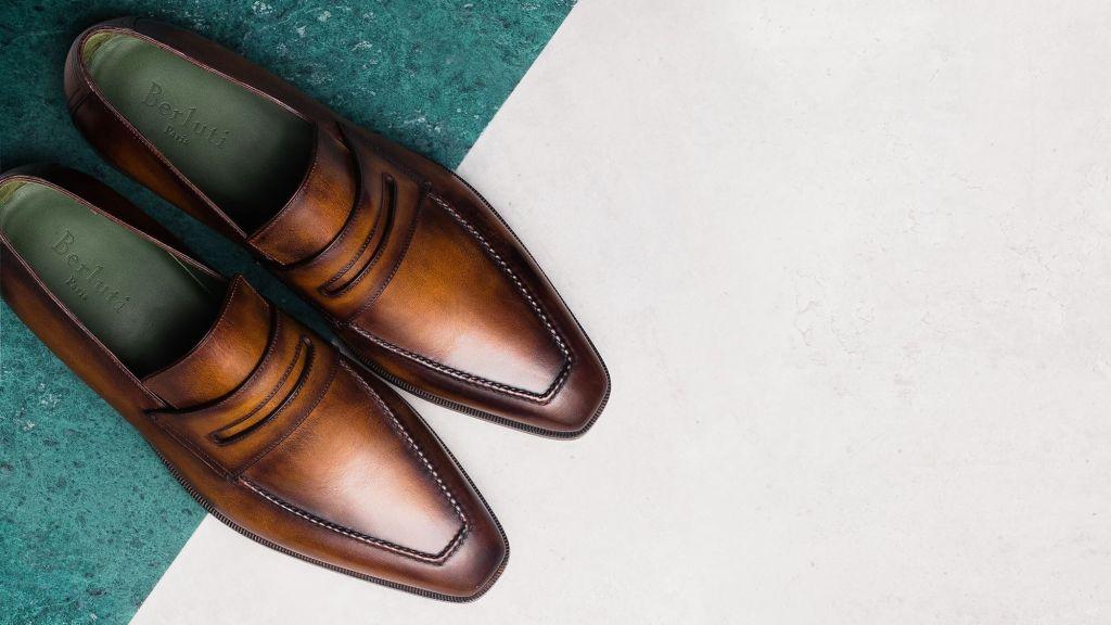 Berluti shoes with signature patina (photo: courtesy Berluti)